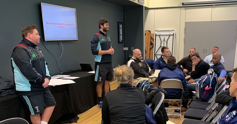 Premiership Scholarship Day 3 – Practice planning and delivery with Harlequins