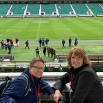 Relaxing at Twickers