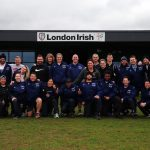 Group Photo at London Irish